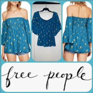 Free People Lana Off the Shoulder Tunic